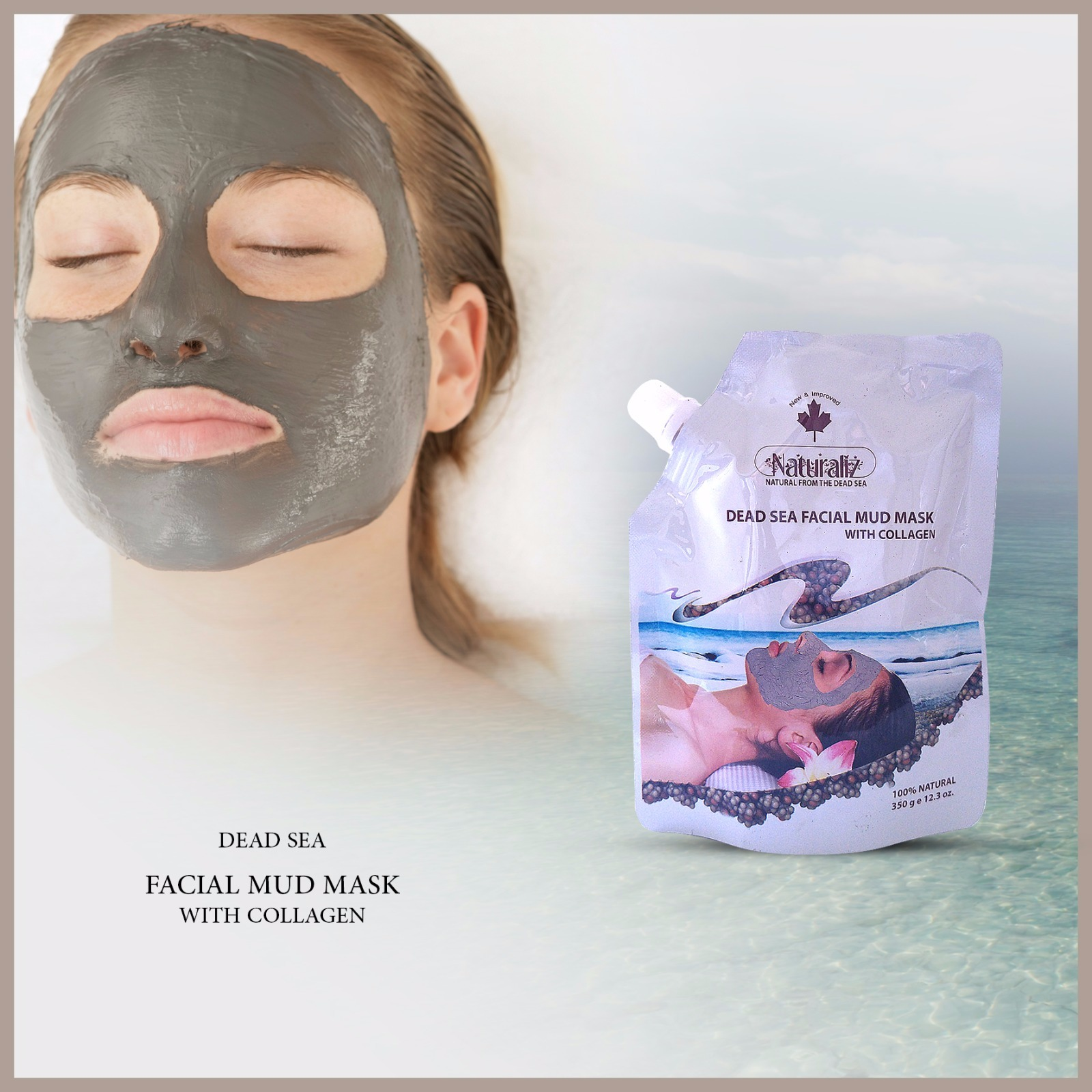 Facial Mud Mask with Collagen