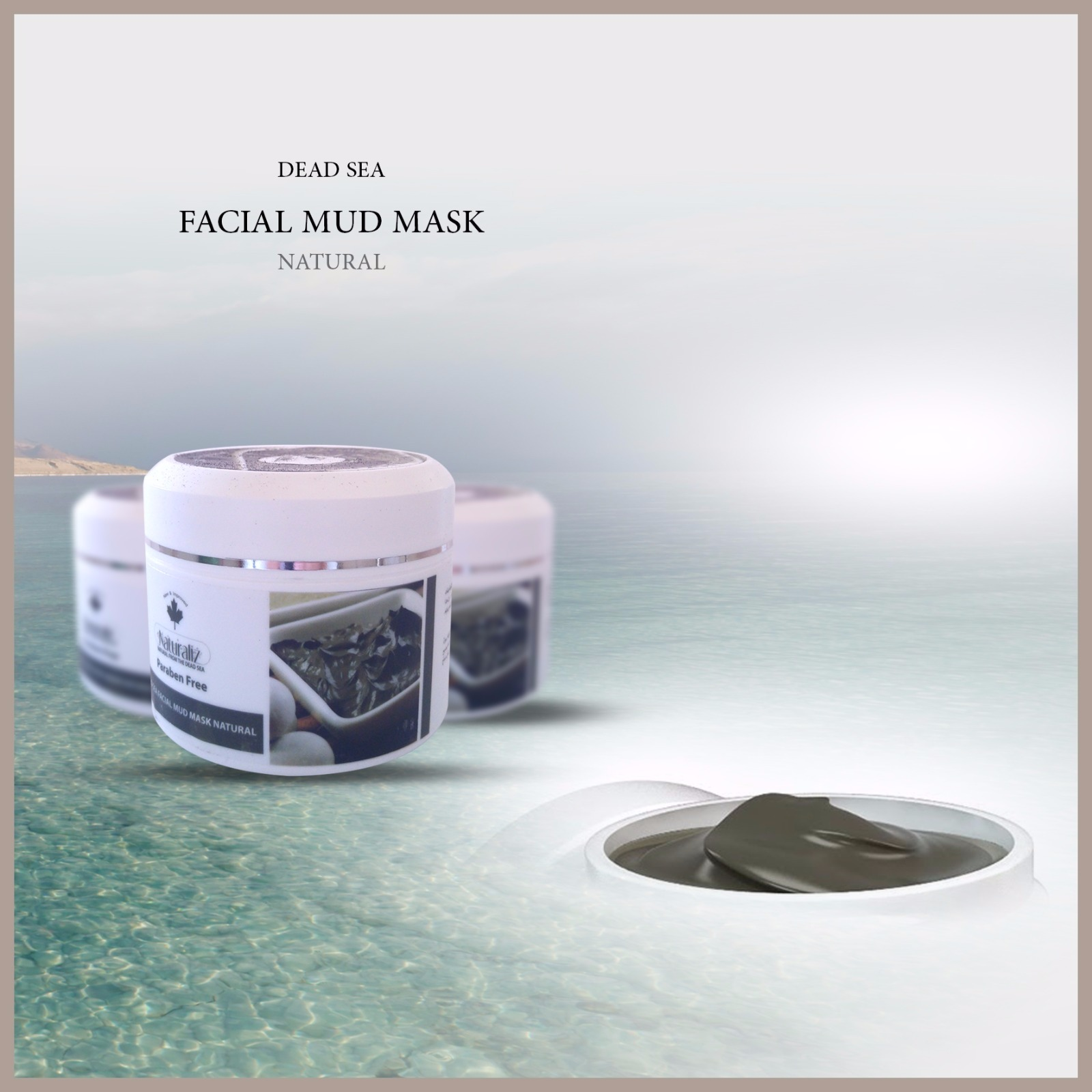 Faical Mud Mask Natural - Jar