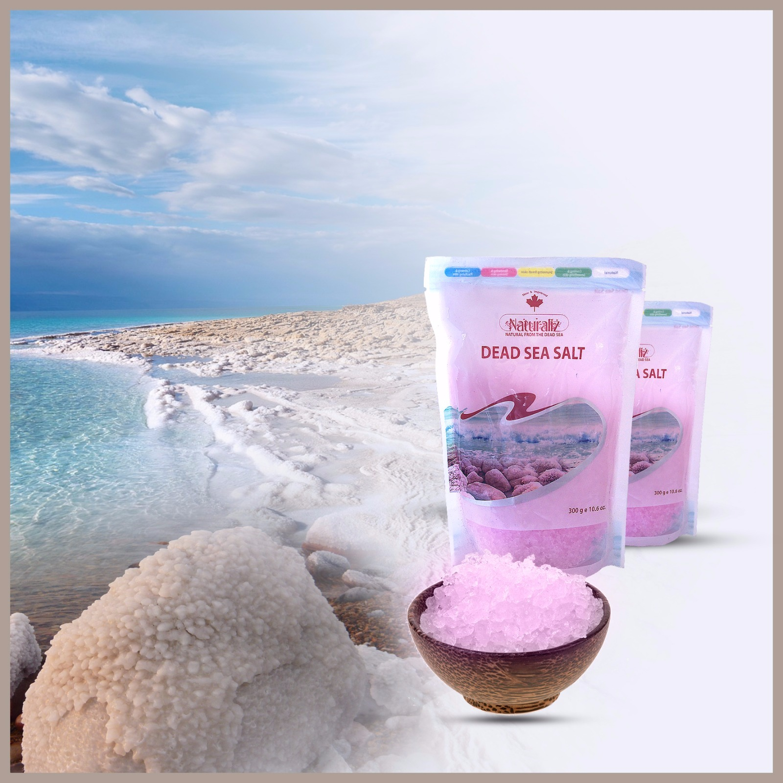 Dead Sea Salt 300gm